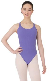 Capezio Women's Double-Strap Camisole Leotard, Black, Medium