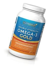 Double Strength Omega-3 Gold  - 1,250 mg  by NutriGold
