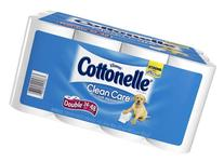 Cottonelle Double Roll Toilet Paper, 24 Pack