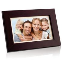 Coby DP700WD 7-Inch Widescreen Digital Photo Frame -Wood