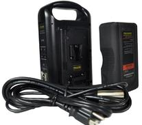 Dracast DR-1x89S-1xCH2V-KIT V-Mount Battery and Charger Kit
