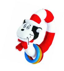 Manhattan Toy Dr. Seuss Cat in The Hat Take and Shake Ring