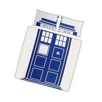 Doctor Who Dr Who TARDIS Double Duvet Set