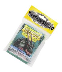 Dragon Shield Mini Card Sleeves Green 50 Count