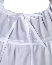 Wantdo Drawstring Wedding Bridal Petticoat 6 Hoops Larges