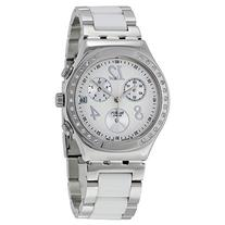 Swatch Dreamwhite Chronograph Unisex Watch - White