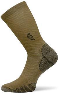 The Best Dress and Travel Crew Compression Socks TSC, Khaki