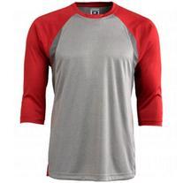 Champro Mens Dri-Gear 3/4 Sleeve Extra Innings T-Shirt
