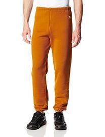 Men's Dri-Power Closed-Bottom Fleece Pant, Texas Orange,