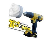 Revolver Drill Brush - Power Scrubbing Drill Attachment -