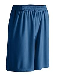 Augusta Youth Longer Length Wicking Short With Pockets