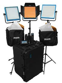 Dracast DRPL-STU-B-CK Studio Plus Bi-Color 3-Light Complete