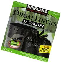Kirkland Signature Smart Closure Technology Trash Wraps, for