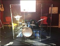 Drum Shield DS4 Five Panels 2ftx5ft