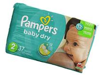 Pampers Baby Dry Diapers - Size 2 - 37 ct