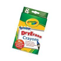 8CT Dry Erase Crayons