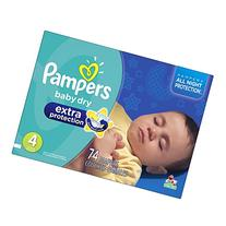 Pampers Baby Dry Extra Protection Diapers Super Pack, Size 4