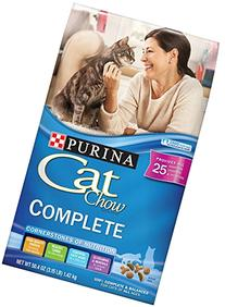 Purina Cat Chow Dry Cat Food, Complete, 3.15-Pound bag, Pack