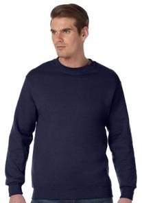 Gildan DryBlend 9.3 oz., 50/50 Fleece Crew, XL, NAVY