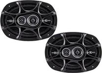 Kicker 41DSC693 D-Series Coaxial 3-Way Speaker with 1/2""