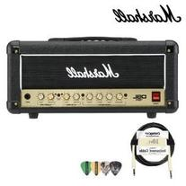 Marshall DSL15H 15W All-Tube Guitar Amp Head Kit - Includes Cable and Pick Sampler