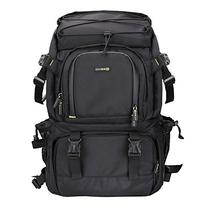 Evecase Extra Large DSLR Camera/Laptop Travel Backpack