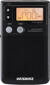 Sangean DT 200X FM-Stereo AM / FM Digital Tuning Personal