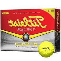 Titleist DT Solo Golf Balls , Yellow