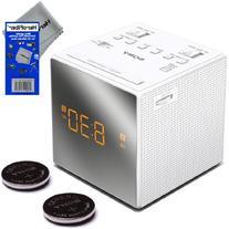 Sony Dual Alarm Clock with Extendable Snooze, AM/FM Radio,