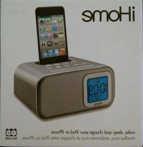 iHome dual alarm clock: wake, sleep and charge your iPod