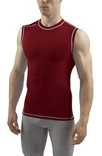 SUB Sports DUAL Mens Compression Top - Sleeveless All Season