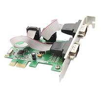 IO Crest 2 Port Serial PCI-e 1.0 x 1 with Full and Low