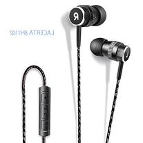 Inateck In-Ear Earphones Earbuds Headsets with Mic and