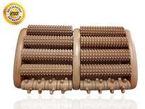 TheraFlow Dual Foot Massager Roller  - Relieve Plantar