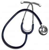 Grafco 400BL Dual Head Stethoscope, Blue