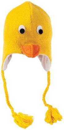 Nirvanna Designs CHDUCK Duck Hat with Fleece, Yellow,