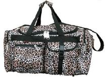 "22"" Duffel Bag with 4-pockets stylish desidns & Weather/"