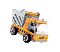 Hape Dump Truck Kid's Wooden Construction Toys Vehicle