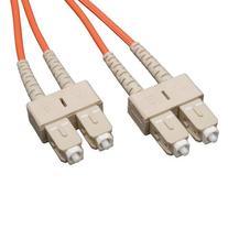 Duplex Multimode 62.5/125 Fiber Patch Cable , 2M
