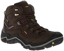 KEEN Men's Durand Mid Waterproof Hiking Boot,Cascade Brown/