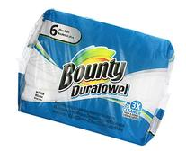 Bounty DuraTowel King Rolls, 6 ct