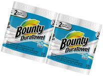 Bounty DuraTowel Paper Towels, King Roll - 4 pk