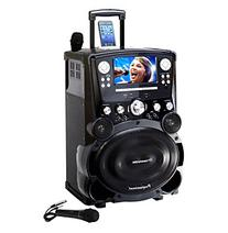 "Professional DVD/CDG/MP3G Karaoke Player with 7"" Color TFT"