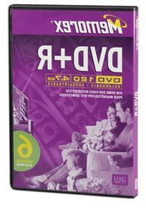 Memorex 4.7GB DVD-R Media