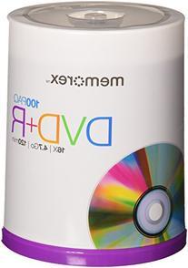 Memorex DVD+R 4.7GB Multipack 2 - 100 Pack Spindles, 200