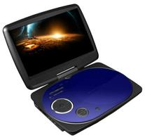 Impecca DVP916B 9 Inch Swivel Screen, Portable DVD Player