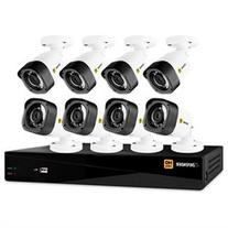Defender HD 1080p 8 Channel 1TB DVR Security System and 8