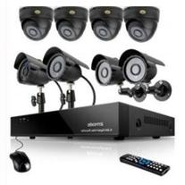 Zmodo 8channel DVR Security Cameras System w/ 4 Outdoor