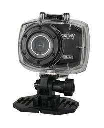 Vivitar Full HD Action Camera, DVR786-Silver
