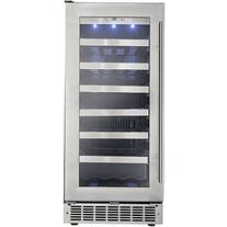 """Danby DWC031D1BSSPR 15"""" Silhouette Tuscany Wine Cooler with"""